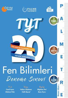 Resim TYT FEN BİLİMLERİ 20 DENEME SINAVI ( PALMETRE SERİSİ )