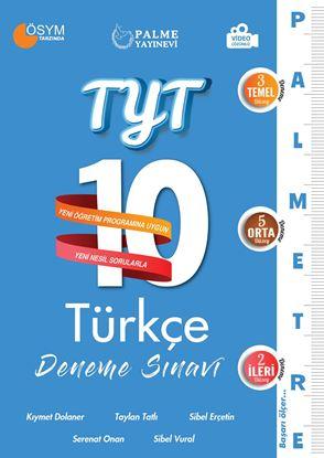 Resim TYT 10 TÜRKÇE DENEME SINAVI ( PALMETRE SERİSİ )