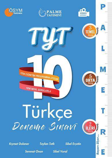 resm TYT 10 TÜRKÇE DENEME SINAVI ( PALMETRE SERİSİ )