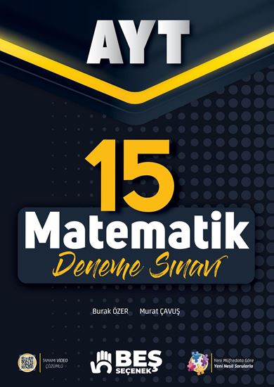 resm YKS - AYT Matematik 15 Deneme Sınavı