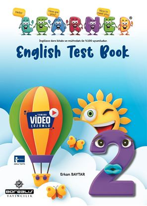 Resim BOREALIS 2.SINIF LEARNED TEST BOOK